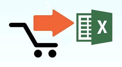 Экспорт товаров в CSV-файл