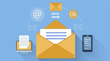 Встроенный сервис рассылки Email сообщений