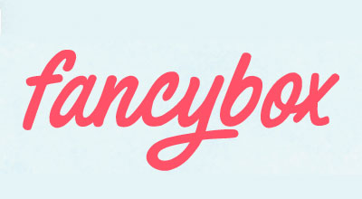 Параметры Fancybox 4