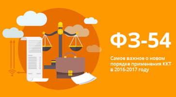 54-ФЗ онлайн-кассы - передача фискальных данных для интернет-магазина