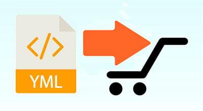 Импорт товаров из YML файла